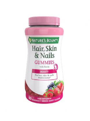 Natures Bounty Hair, Skin & Nail Gummies